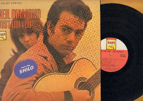 Diamond, Neil - Just For You: Shilo, Girl You'll Be A Woman Soon, Red Red Wine, Cherry Cherry, I'm A Believer, Solitary Man (vinyl STEREO LP record) - EX8/EX8 - LP Records